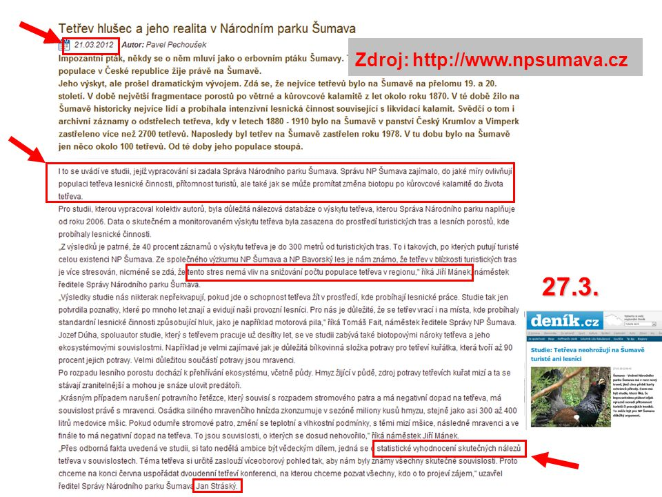 27.3. Zdroj: http://www.npsumava.cz
