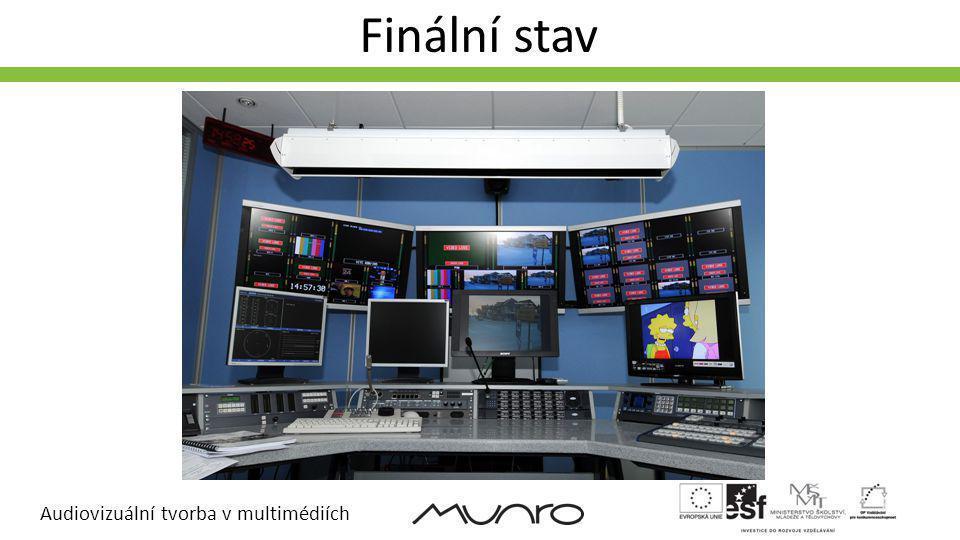 Audiovizuální tvorba v multimédiích Finální stav