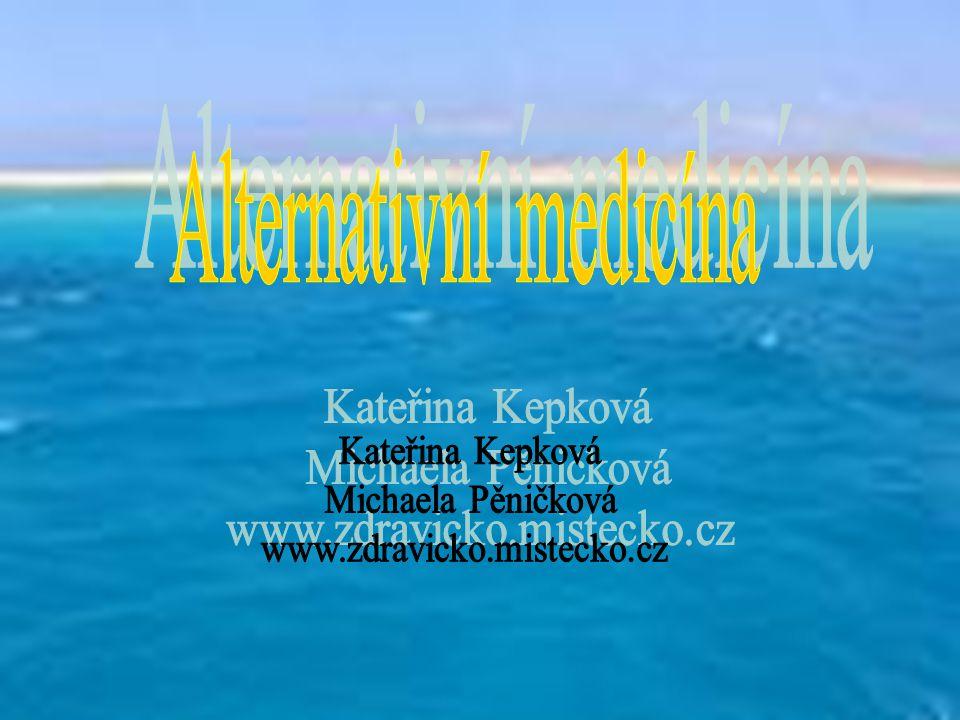 Úvod Naše stránky jsou zaměřeny na alternativní medicínu Naleznete zde základní informace o tomto tématu, různé její metody Množství článků, obrázky, ankety, diskuze a zajímavé odkazy Design laděný do růžova