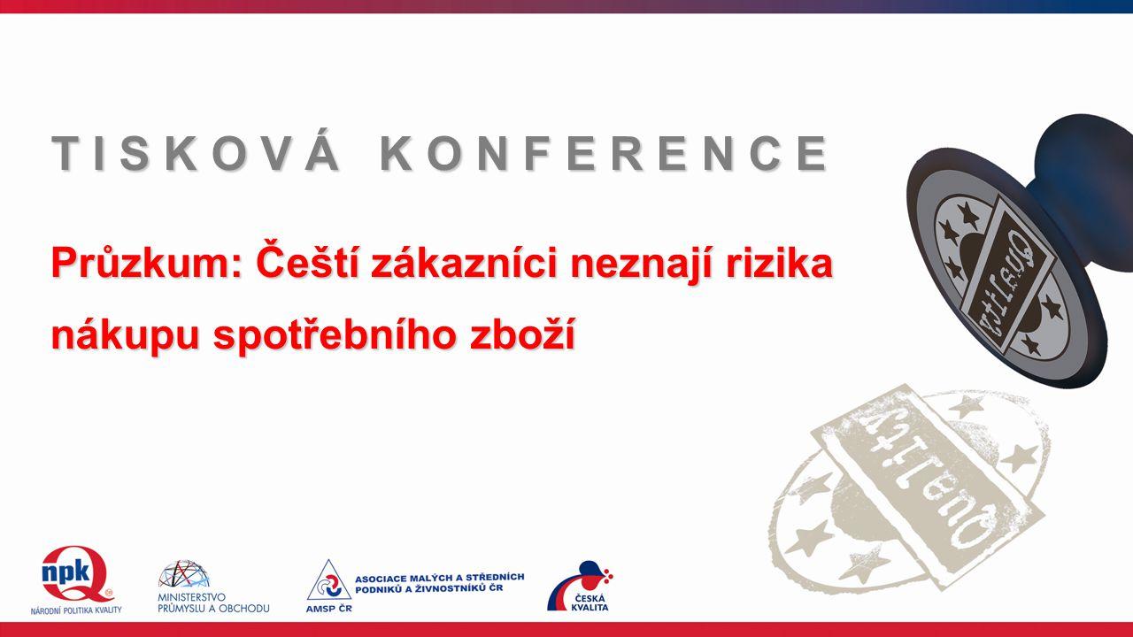 Průzkum: Čeští zákazníci neznají rizika nákupu spotřebního zboží