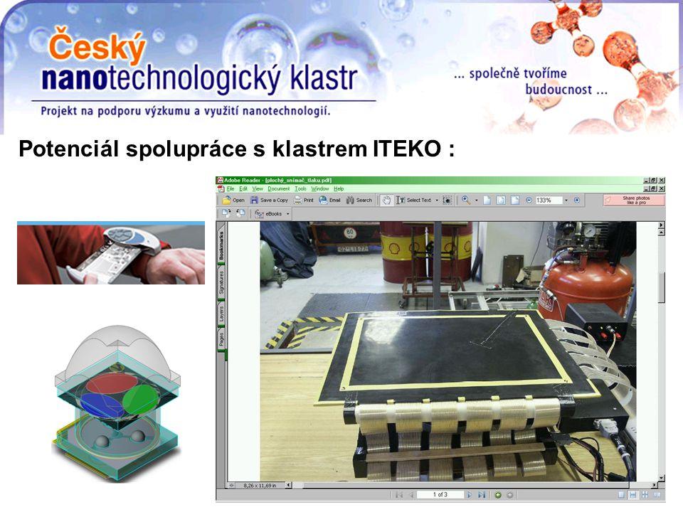 Potenciál spolupráce s klastrem ITEKO :