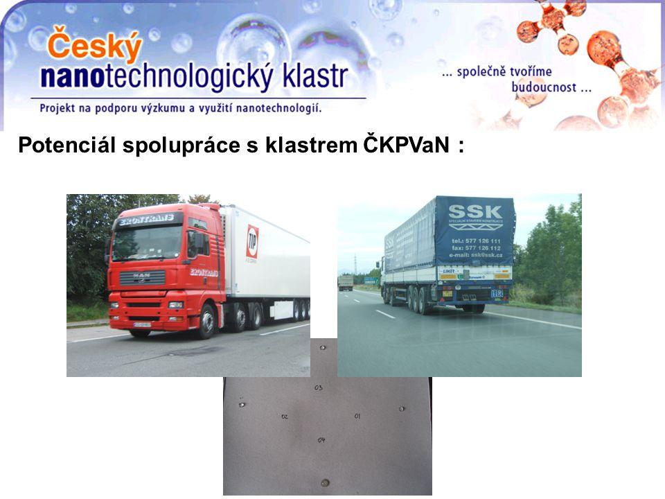Potenciál spolupráce s klastrem ČKPVaN :