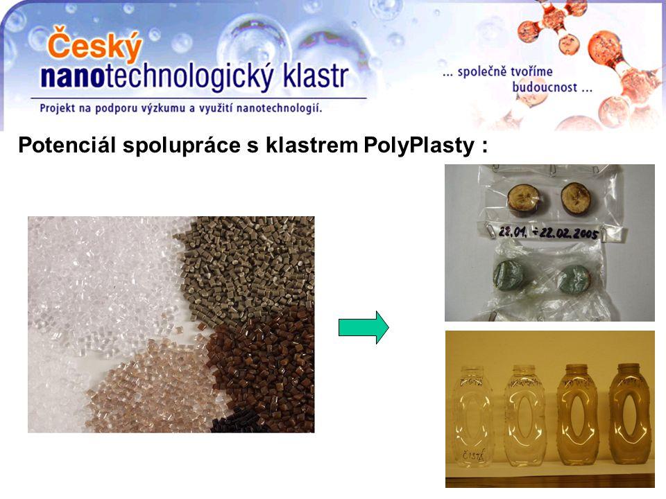 Potenciál spolupráce s klastrem PolyPlasty :