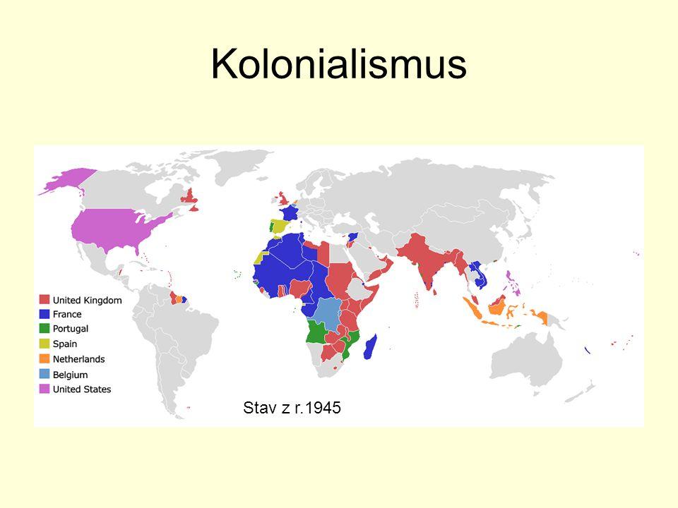 Kolonialismus Stav z r.1945