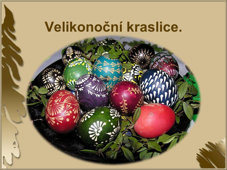 Velikonoční kraslice.