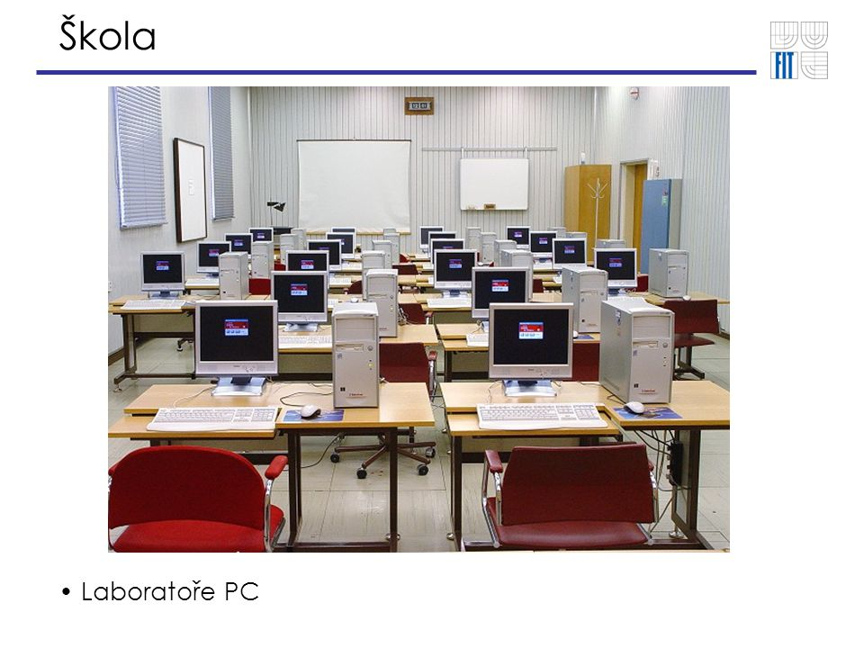 Škola Laboratoře PC