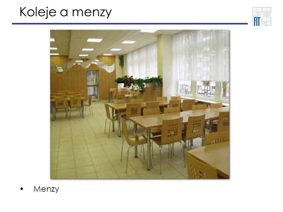 Koleje a menzy Menzy