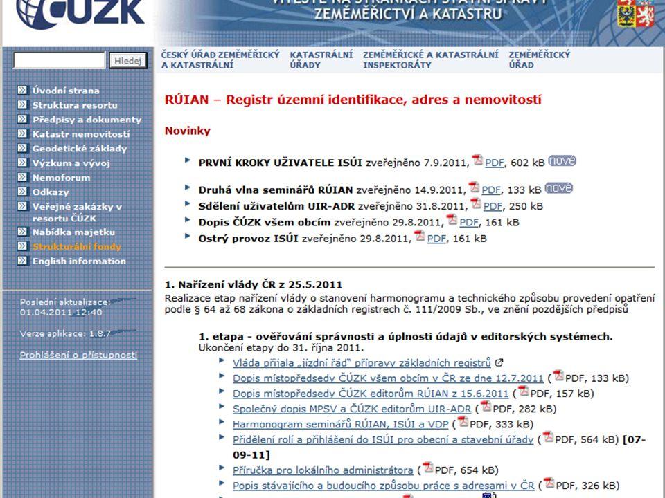 Stránka 21 22. 9. 2011 Konference Stavební úřady 2011