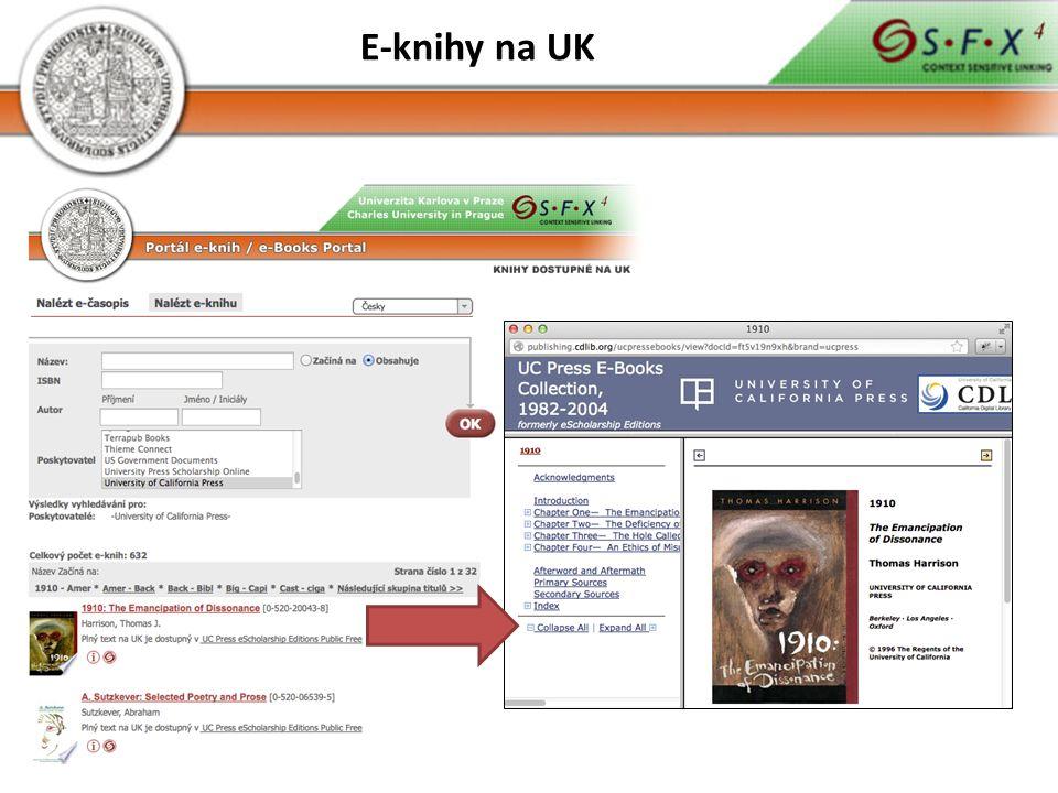E-knihy na UK