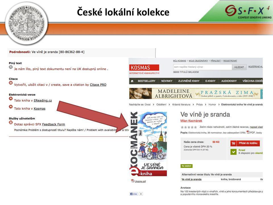 České lokální kolekce