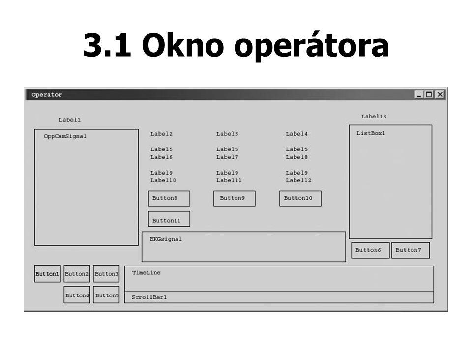 3.1 Okno operátora