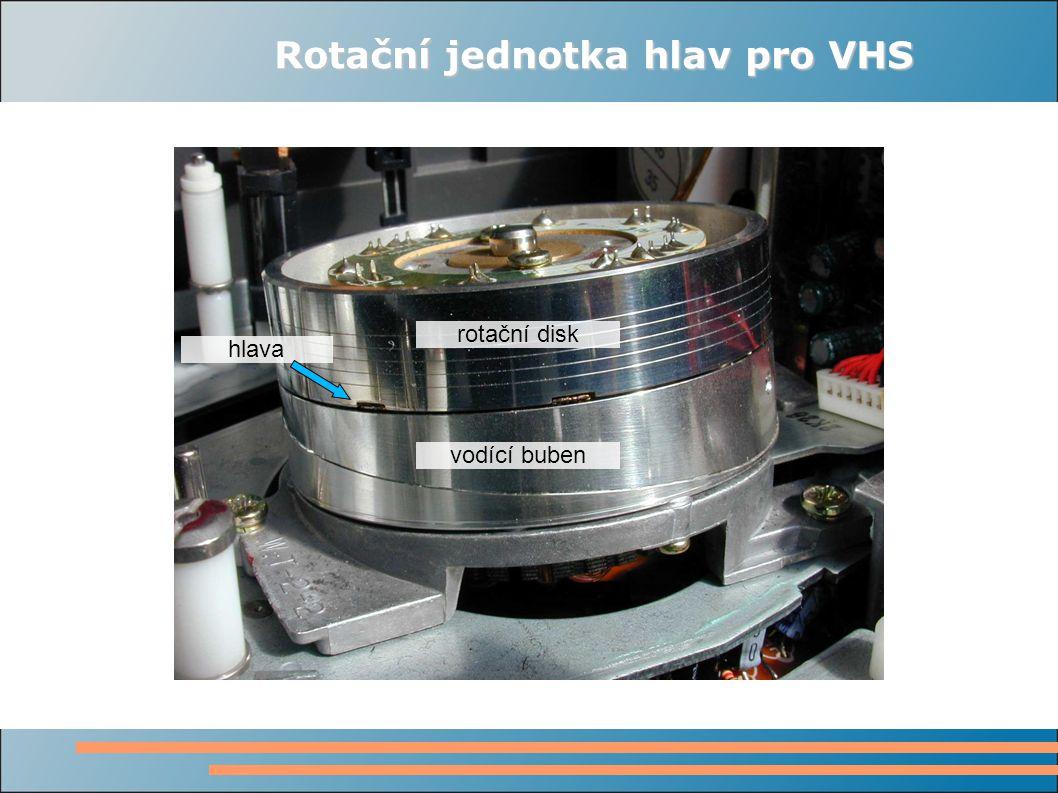 Analogová norma C Starší systém analogového záznamu, používá pásek 1 navinutý na cívku.