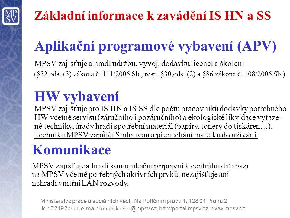 Harmonogram realizace IS HN a SS  Testovací provoz 10.11.2006 Pouze na vybraných úřadech.