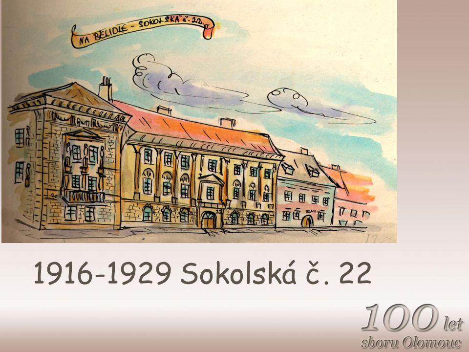 1916-1929 Sokolská č. 22