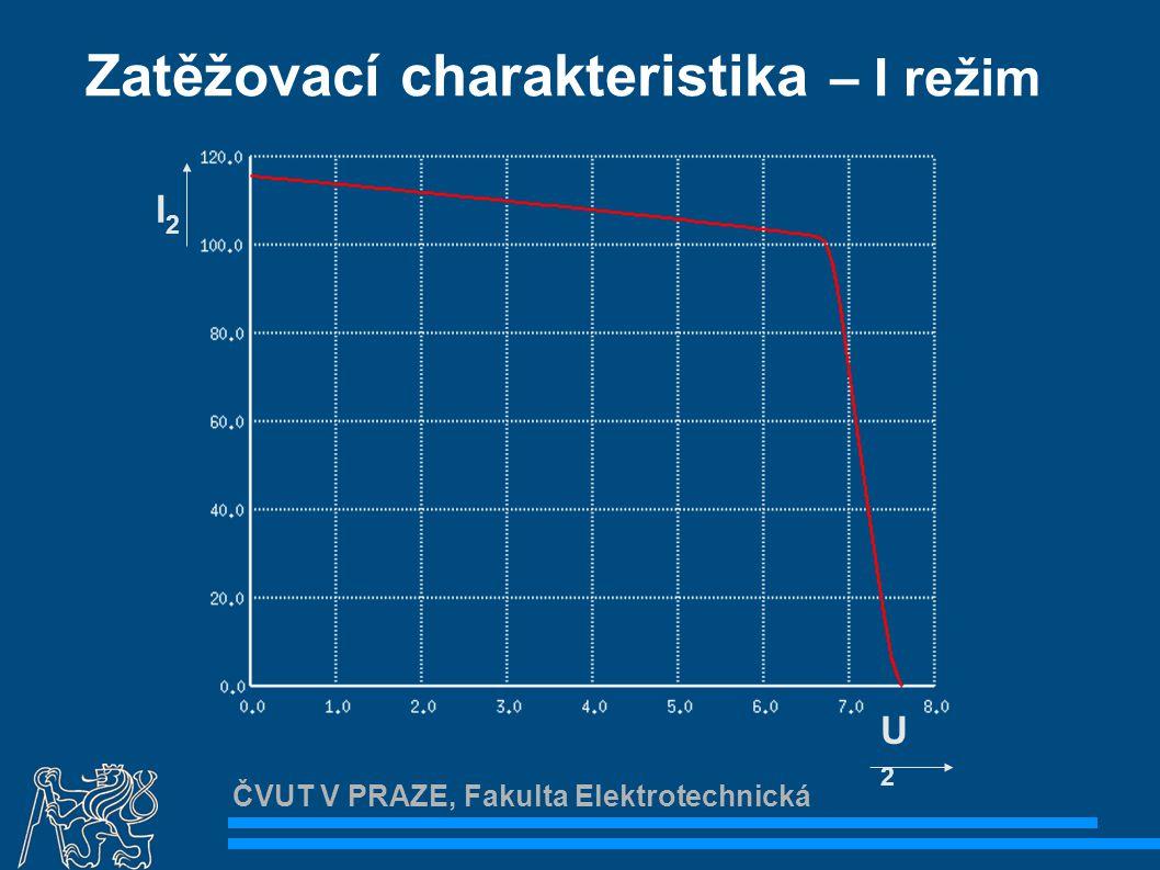 """ČVUT V PRAZE, Fakulta Elektrotechnická Návrhy na zlepšení Zlepšit stabilizaci napětí  """"Zlepšit ZD – např."""