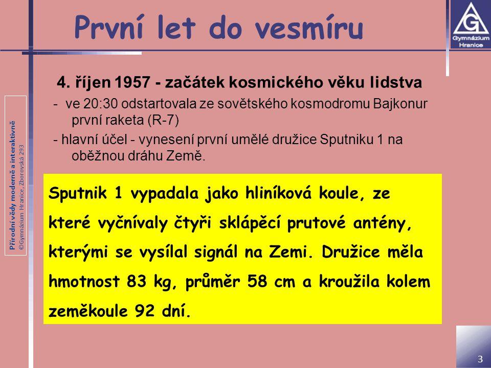 Přírodní vědy moderně a interaktivně ©Gymnázium Hranice, Zborovská 293 Havárie raketoplánů 14 28.