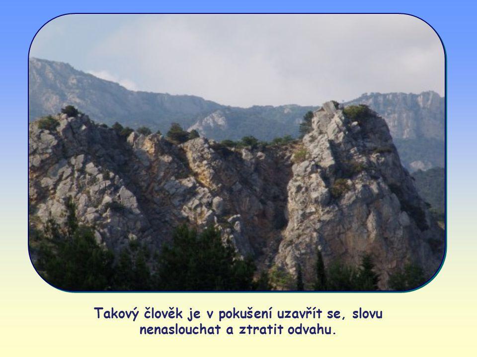 Někdo může slova evangelia považovat za příliš náročná a obtížná, příliš vzdálená běžnému stylu života a způsobu uvažování.