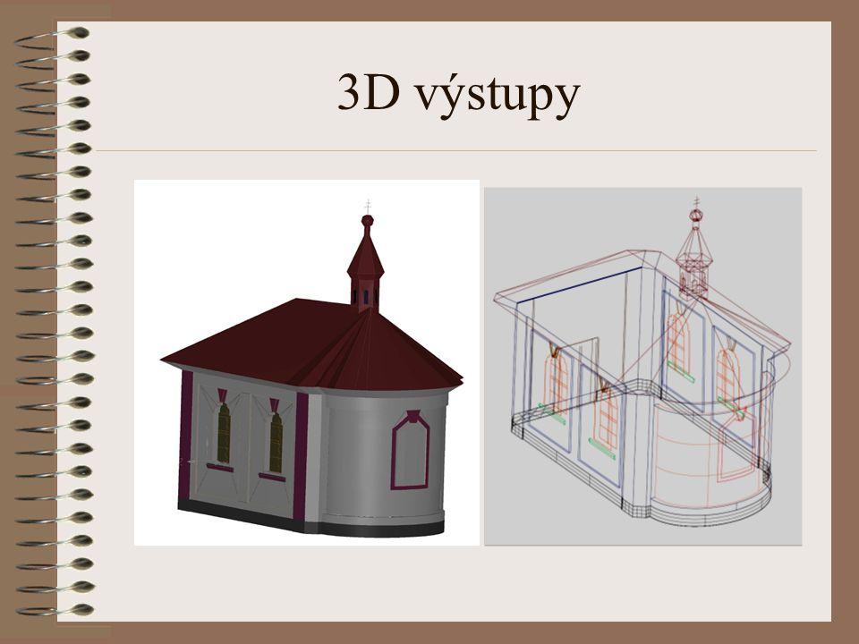 3D výstupy
