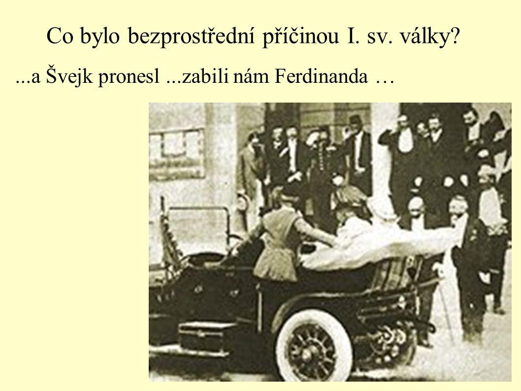 1. světová válka- a české území.Do které skupiny jsme s naším územím patřili?