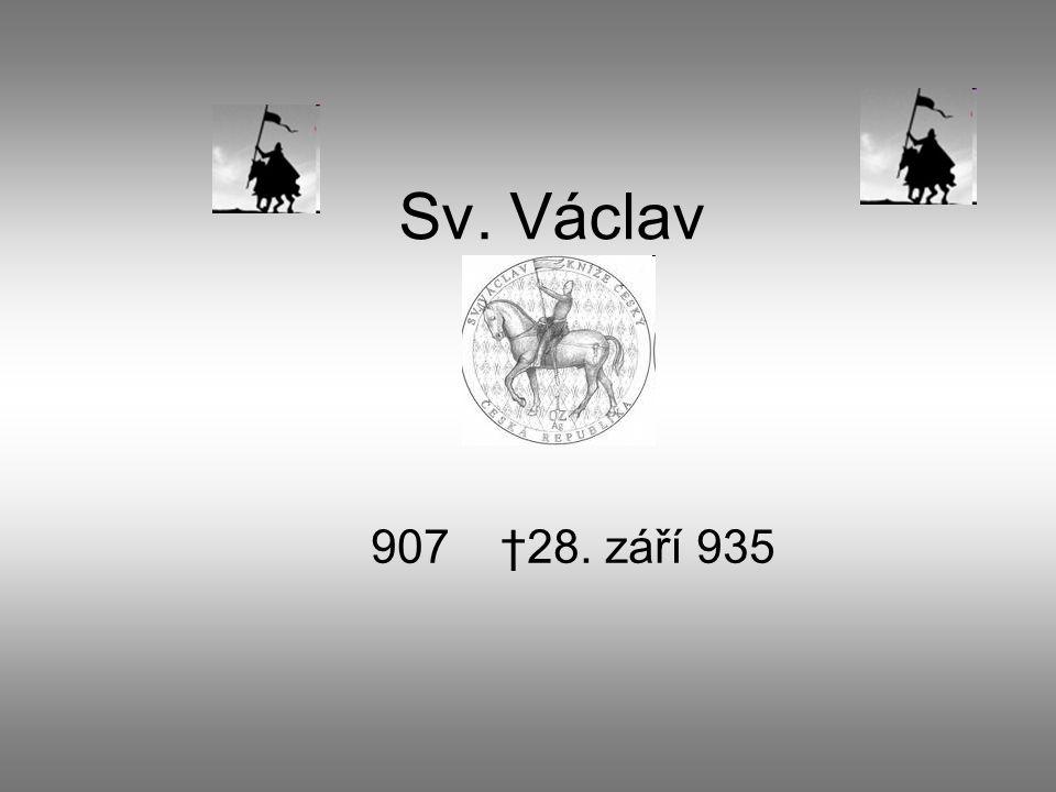 Původ Český kníže Václav I.