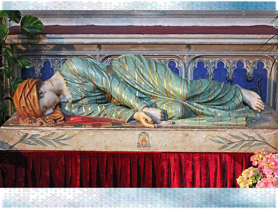 Sv. Cecilia je římská mučednice a světice římsko- katolické církve. Podle legendy pocházela ze starého římského rodu Ceciliů. Již v mládí se stala hor