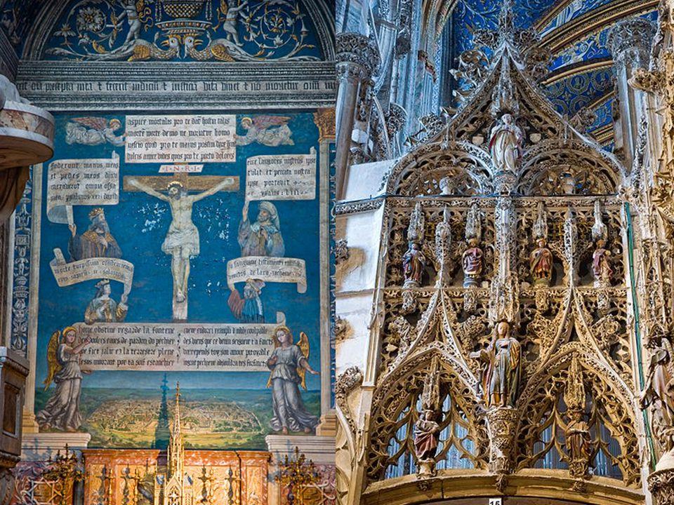 Kaple Varhany a fresky