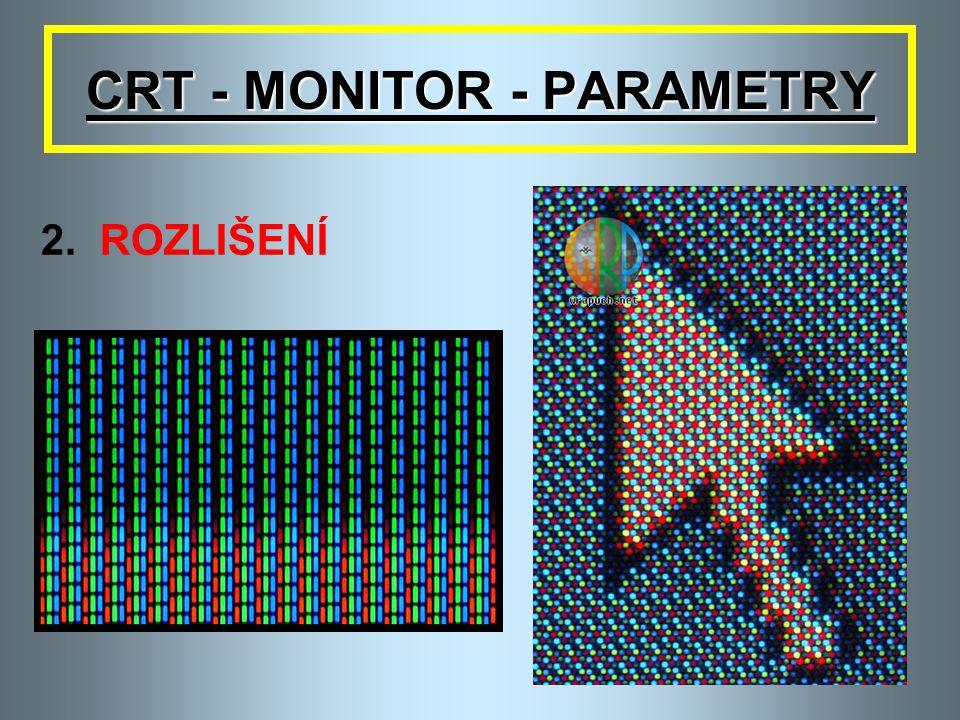 CRT - MONITOR - PARAMETRY 2.