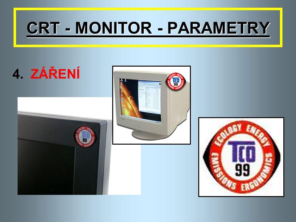 CRT - MONITOR - PARAMETRY 4.