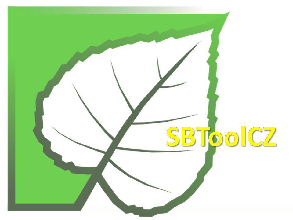 lokalizace GBTool a případové studie (2005) spolupráce na GBTool v rámci iiSBE SBToolCZ 2007 pilotní verze české verze, testování na 12 případových studiích SBToolCZ 2009 používán ve výuce, hodnoceny studentské projekty nyní přichází SBToolCZ 2010 Vývoj české metodiky Czech methodology development