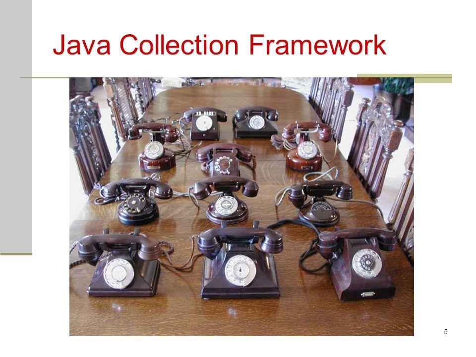 Java cv106 Java Collection Framework Kolekce – objekt, který představuje sadu objektů (podobně jako pole) Collection Framework – způsob jak standardně nakládat s kolekcemi objektů Rozhraní Algoritmy Implmentace Třídy v balíku java.util detailní informace o JCF http://java.sun.com/j2se/1.4.2/docs/guide/collections/
