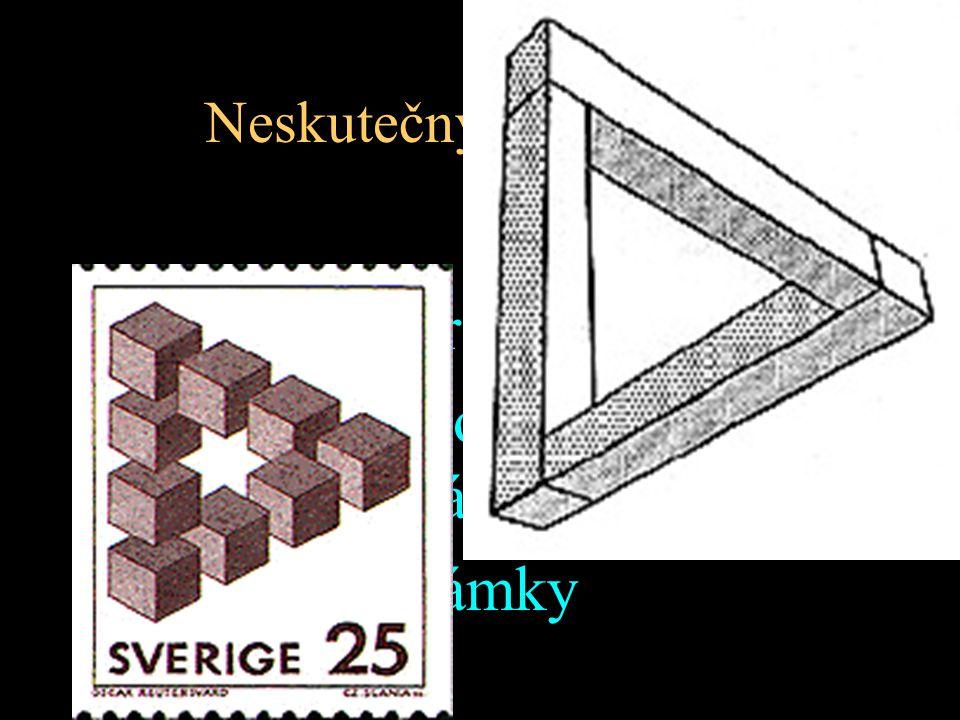 Neskutečný trojúhelník Oscar Reutersvärd (1934) 1980 triangl oceněn Švédskou vládou 1982 tisk známky