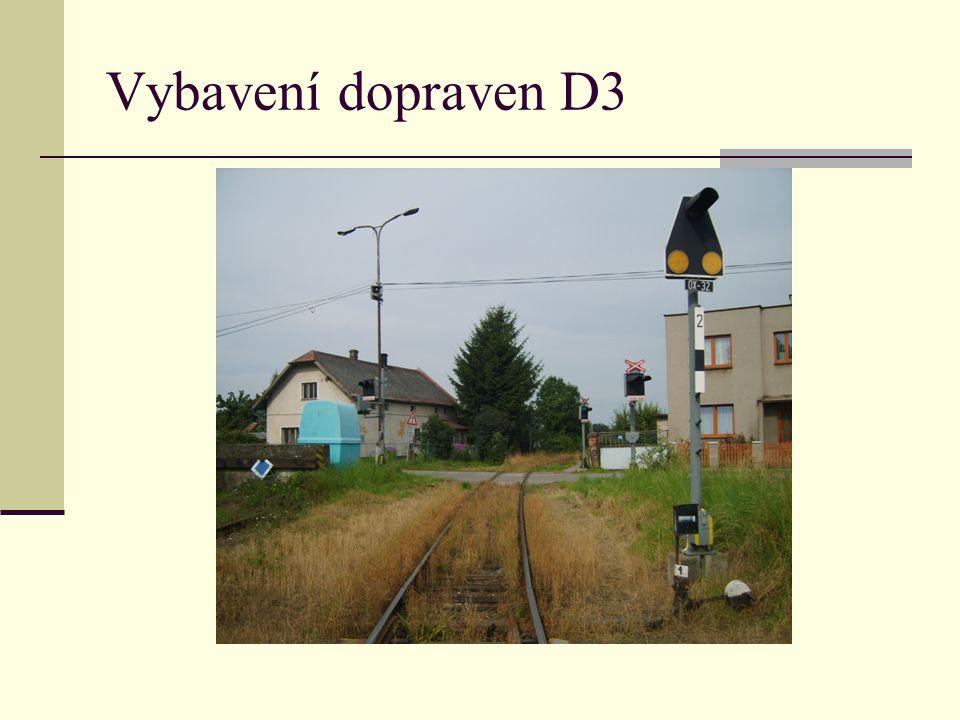 Vybavení dopraven D3
