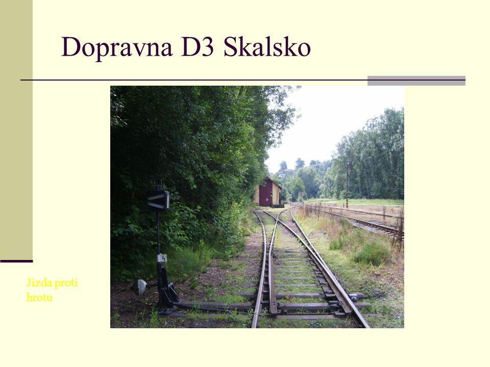 Dopravna D3 Skalsko Jízda proti hrotu
