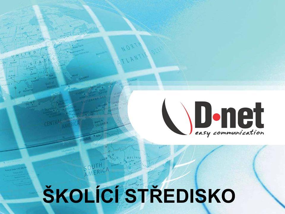 Úvod Společnost D-NET, a.s.