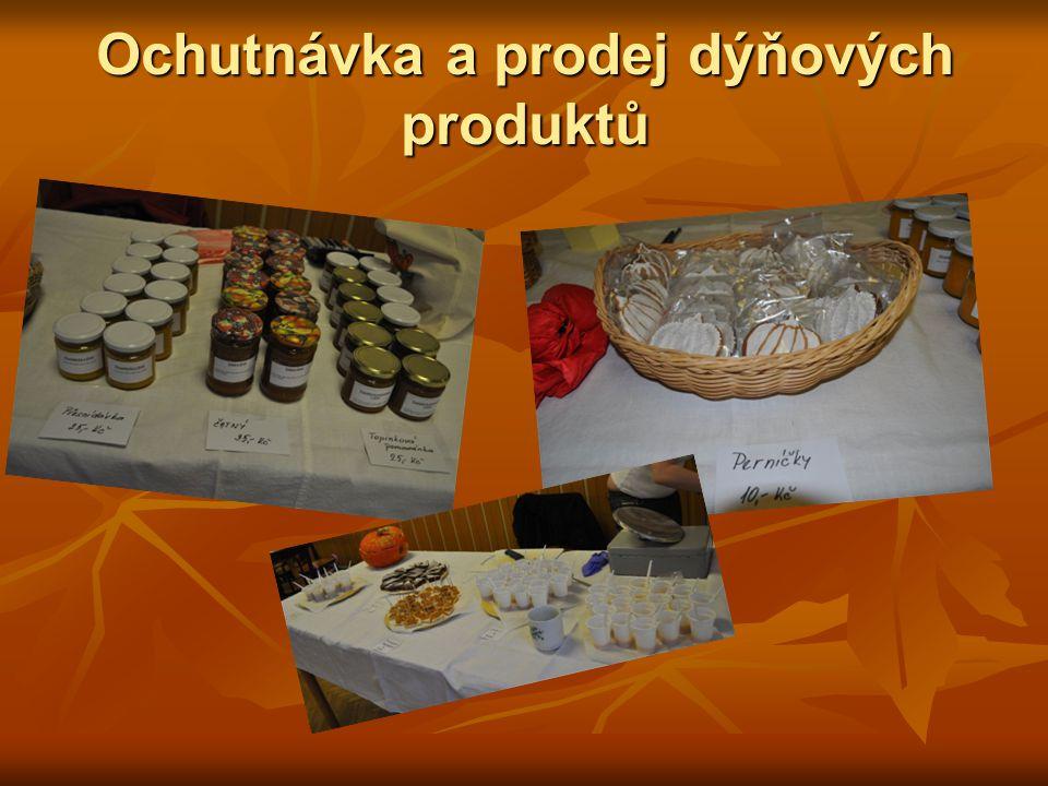 Ochutnávka a prodej dýňových produktů