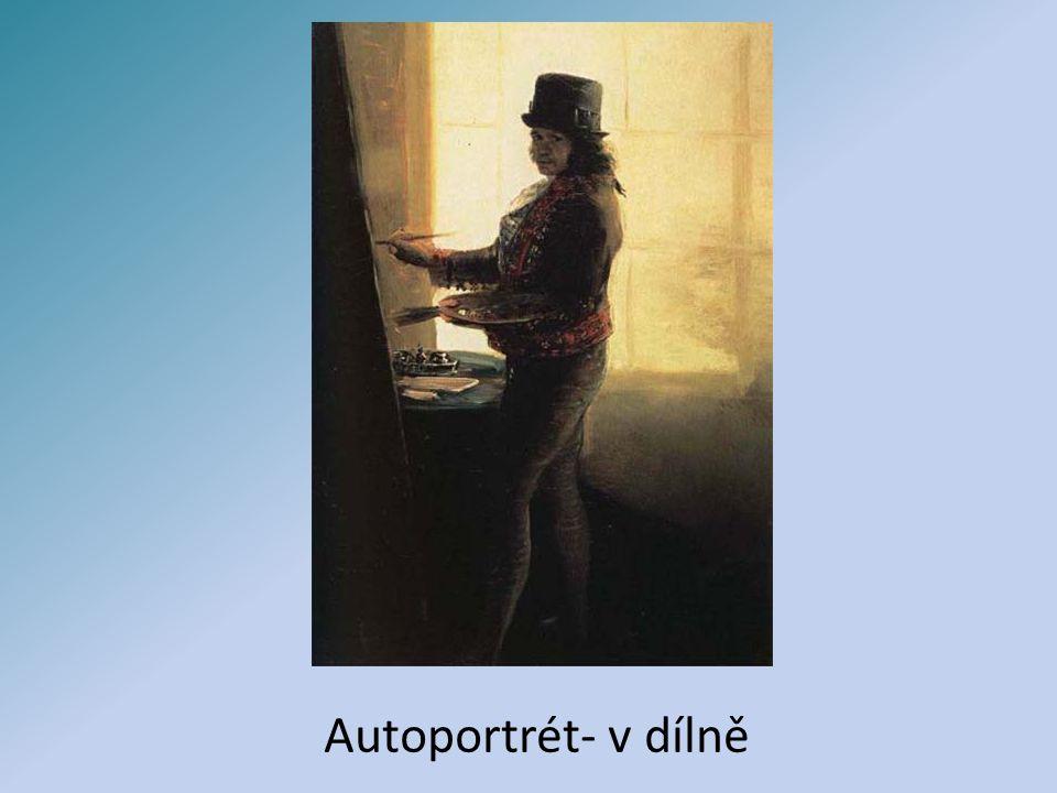 Autoportrét- v dílně