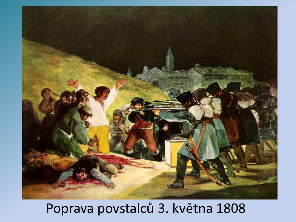 Poprava povstalců 3. května 1808