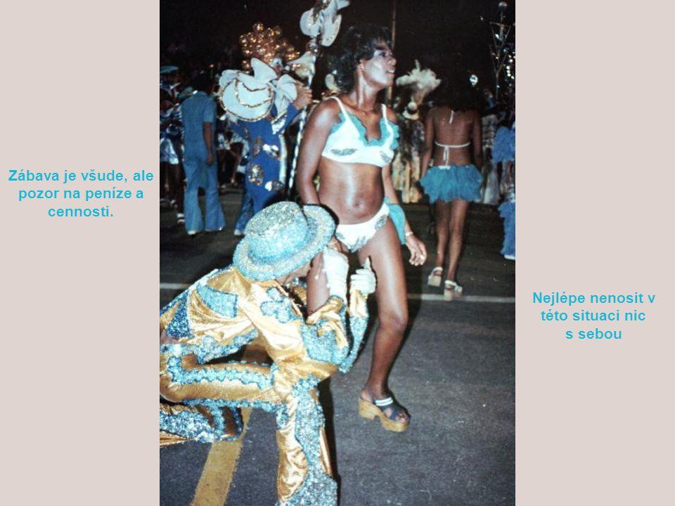 Během karnevalu vládne všude veselí