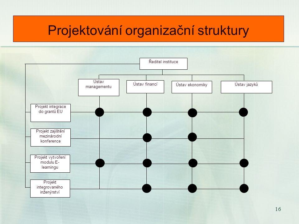 15 Dva (vzájemně se doplňující) pohledy na podnikový systém 1. Hodnotový pohled na fungování podniku nám umožní odvodit důležitost, ve smyslu absolutn