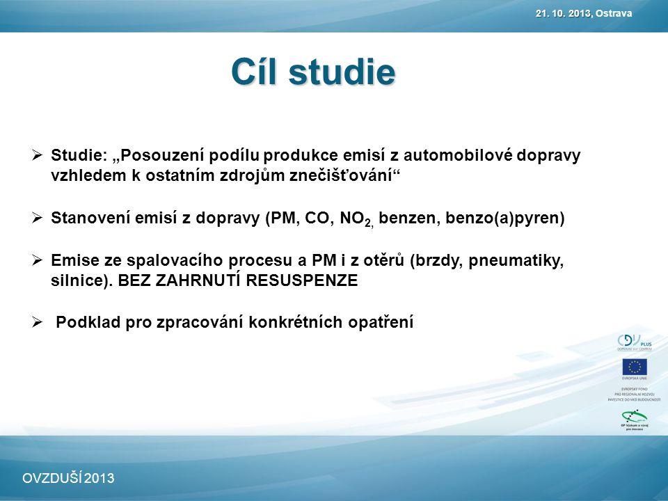 Cíl studie 21. 10. 2013 21. 10.