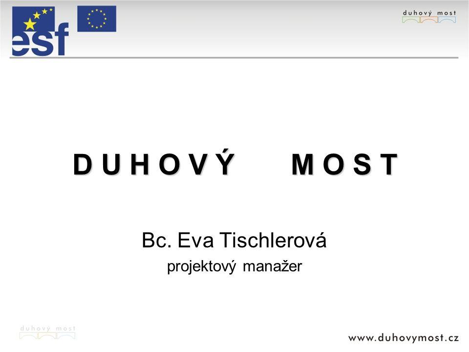 D U H O V Ý M O S T Bc. Eva Tischlerová projektový manažer
