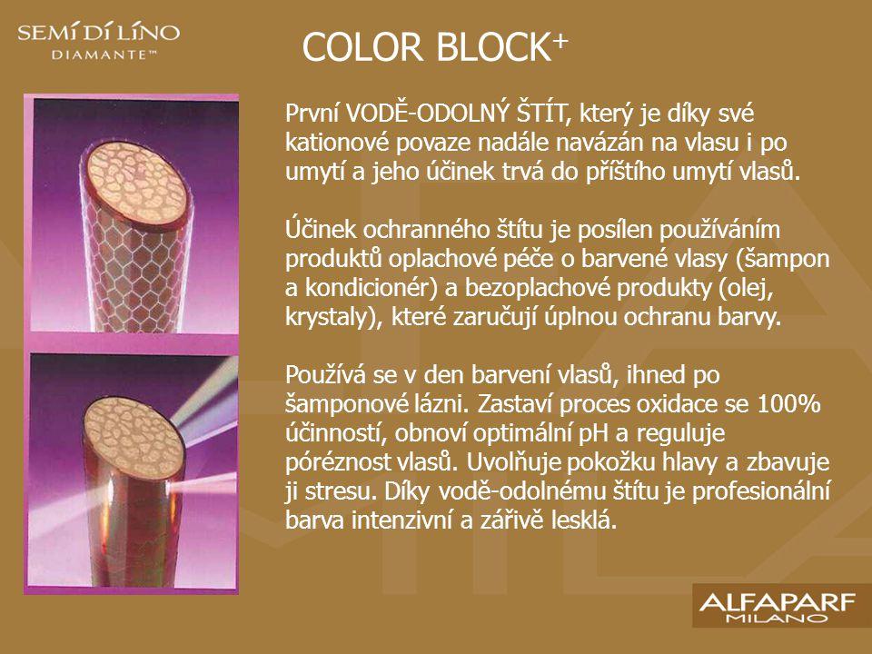 PRODUKTY COLOR PROTECTION SHAMPOO Šampon bez obsahu solí a sulfátů, odstraňuje zbytky barvy, jemně čistí a současně udržuje barvu.