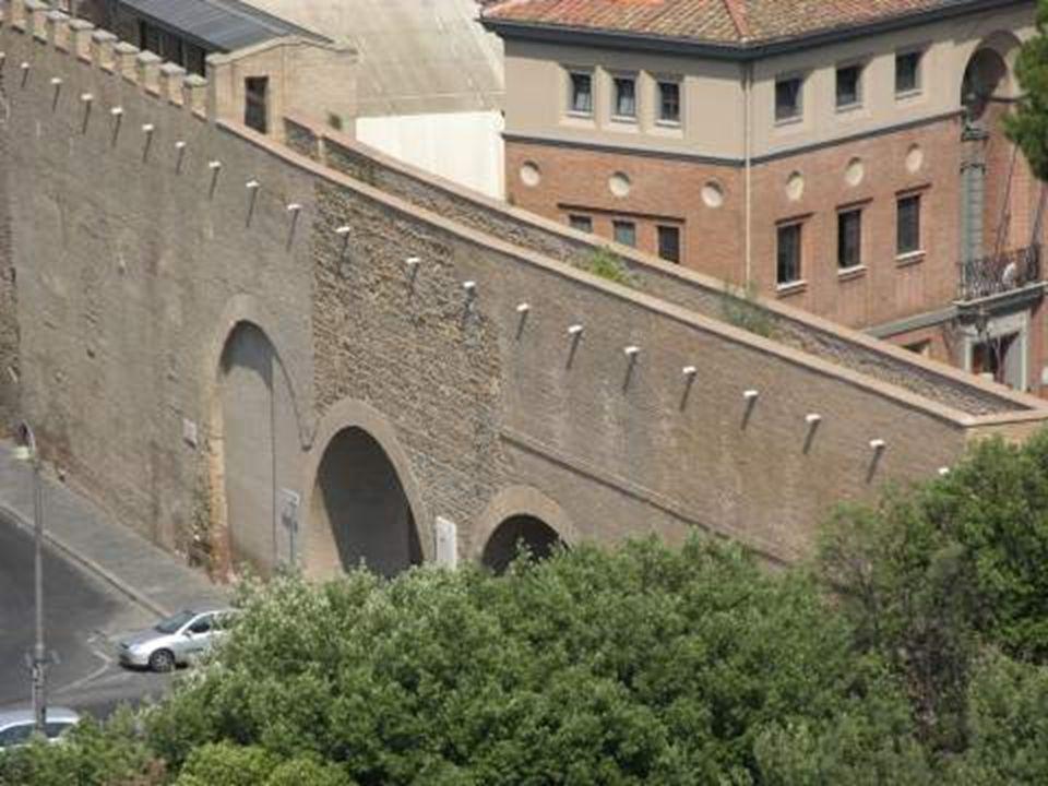 Passetto jižní strana k Vaticanu