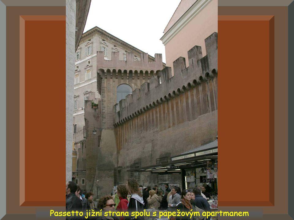Vstup do Passetta Passetto interiér