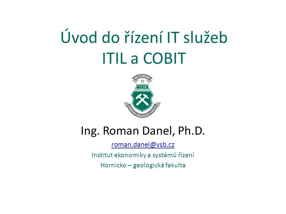 Obsah Co je to ITIL.