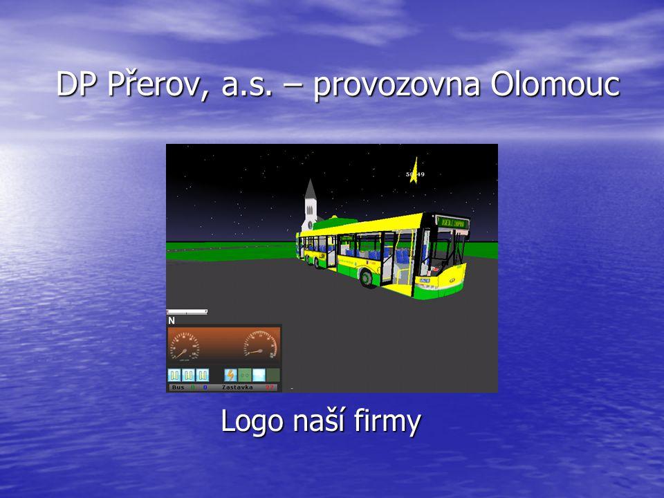 DP Přerov, a.s. – provozovna Olomouc Logo naší firmy