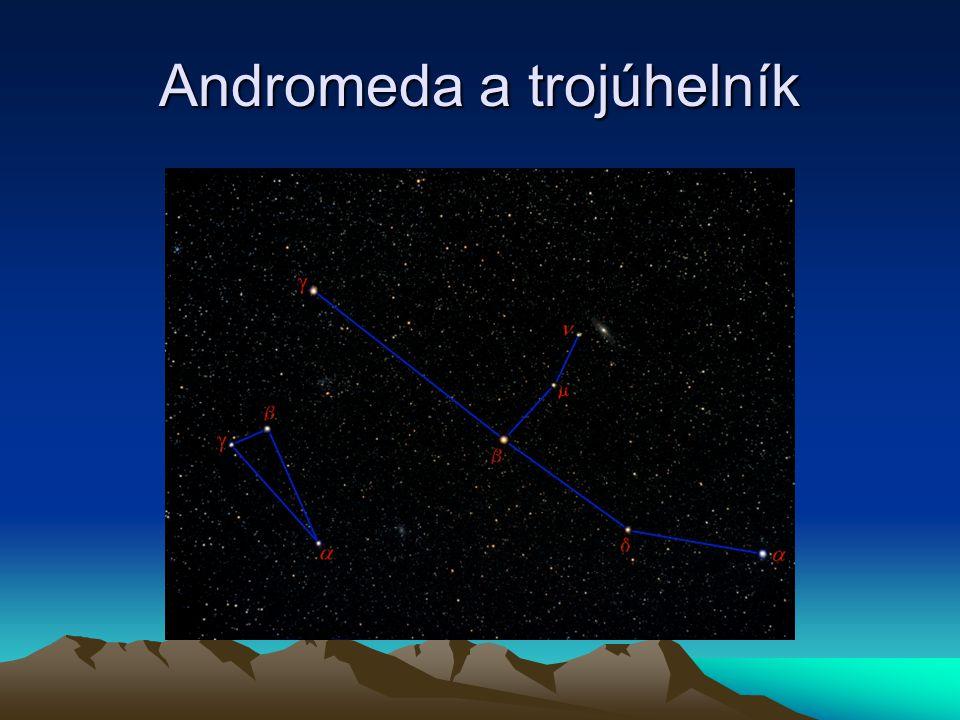 Andromeda a trojúhelník