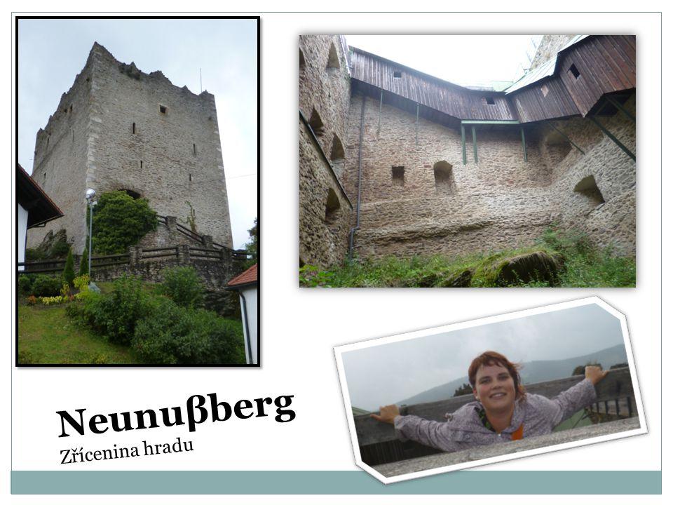 Neunuβberg Zřícenina hradu