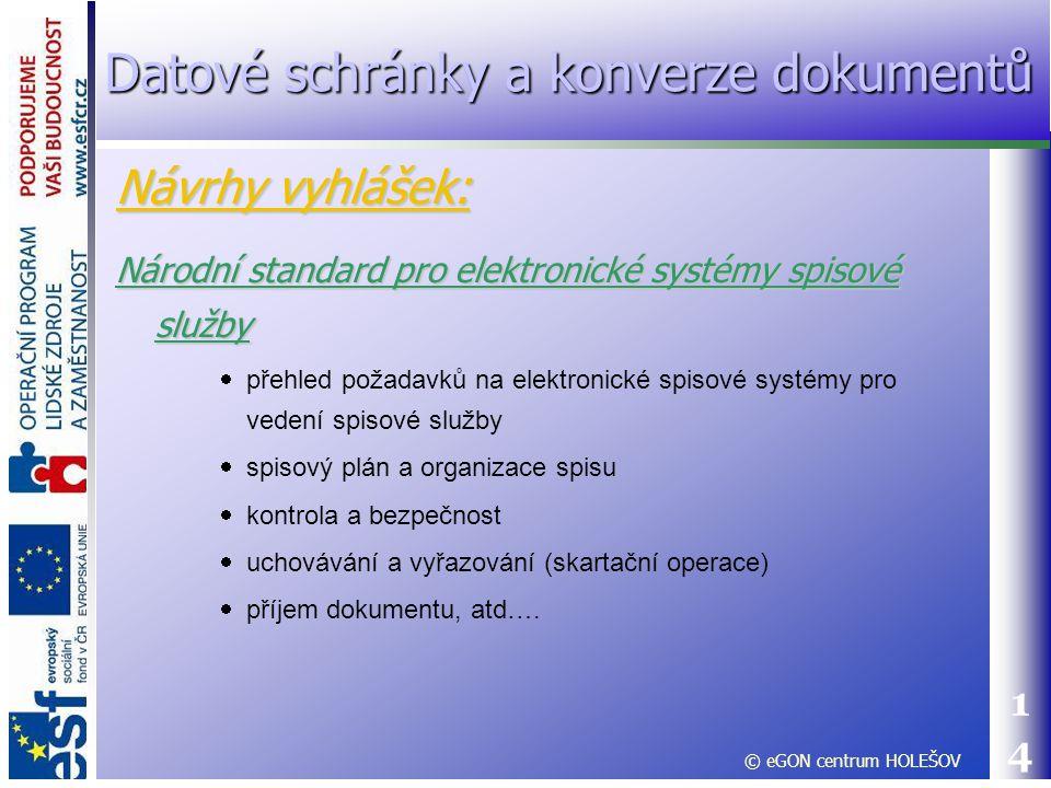 14 Národní standard pro elektronické systémy spisové služby  přehled požadavků na elektronické spisové systémy pro vedení spisové služby  spisový pl
