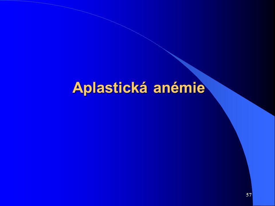 57 Aplastická anémie